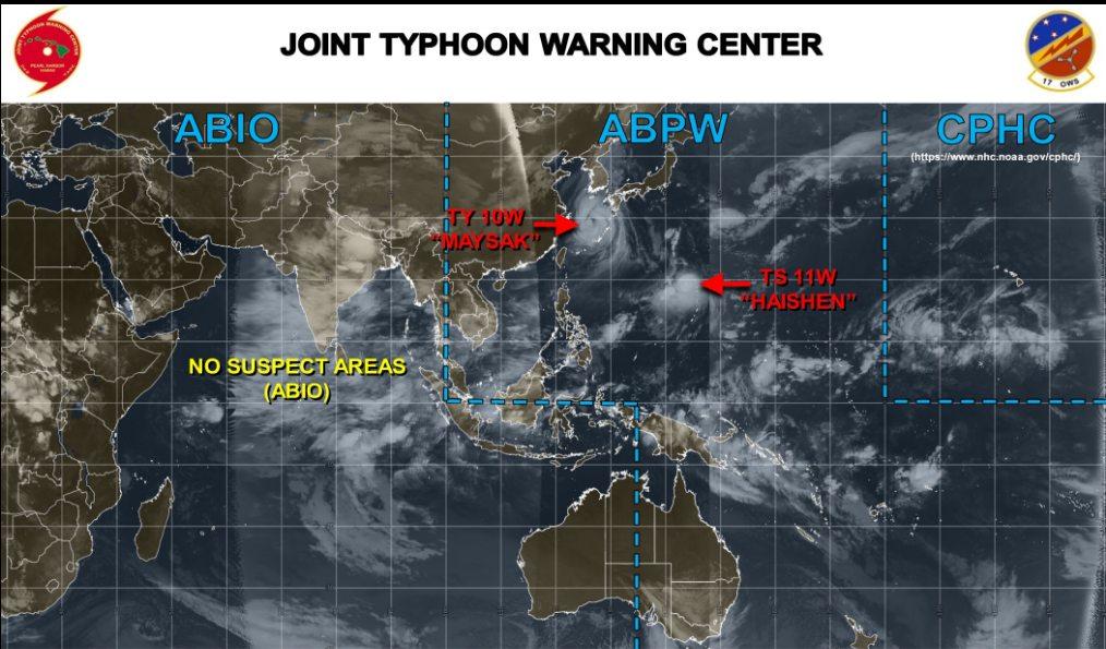 台風11号 台風 11号 たまご 卵 発生 2020 2020年 進路 予想 予想図 最新 米軍 米軍基地 アメリカ ハワイ 合同台風警報センター ヨーロッパ ヨーロッパ中期予報センター 見方 見れない ECMWF JTWC 10日間予報